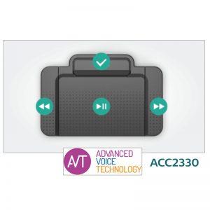 Philips ACC2330 Transcriptie voetschakelaar met 4 schakelaars