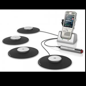 Philips DPM8900 vergaderset met extra tafelmicrofoons