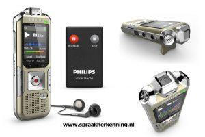 Philips DVT6500 Digitale Memo- / verslaggever- / vergaderingrecorder met afstandsbediening