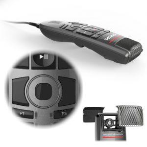NIEUW Philips SpeechMike Premium Touch dicteermicrofoon - SMP3700 - met Trackpad muis