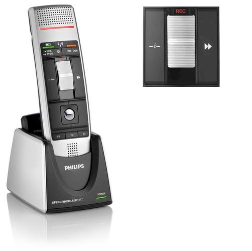 Philips SpeechMike Air Classic draadloze dicteermicrofoon met schuifschakelaar - LFH3010