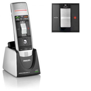 Philips SpeechMike Air Classic draadloze dicteermicrofoon met schuifschakelaar - LFH3020