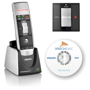 Philips SpeechMike Air Classic dicteermicrofoon + SpeechExec Pro - LFH3025
