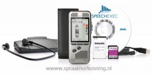 Philips DPM7700 - Dicteer en transcriptie set - recorder, transcriptieset en SpeechExec Software