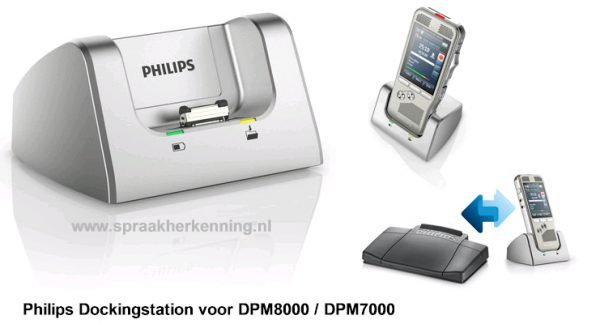 Philips USB Dockingstation voor DPM8000 / DPM7000 serie (ACC8120)