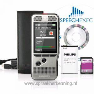 Philips DPM6000 -  Philips PocketMemo,kleurenscherm en drukknopbediening