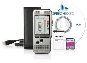 Philips DPM7200 - Pocket Memo met kleurenscherm, SpeechExec en Europeese schuifschakelaar