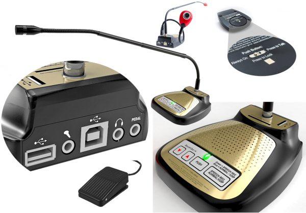 SpeechWare 9-in-1 TableMike - de beste tafelmicrofoons voor Dragon spraakherkenning