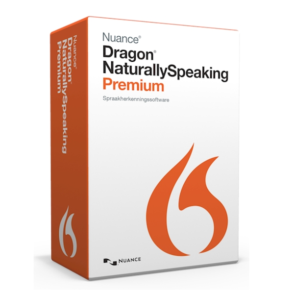 Dragon NaturallySpeaking 13 Premium box