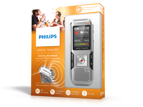 Philips DVT4000 VoiceTracer doos