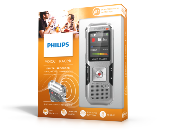 Philips DVT4000 VoiceTracer doos