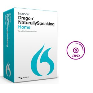 Dragon NaturallySpeaking 13 Home - doos - DVD-only