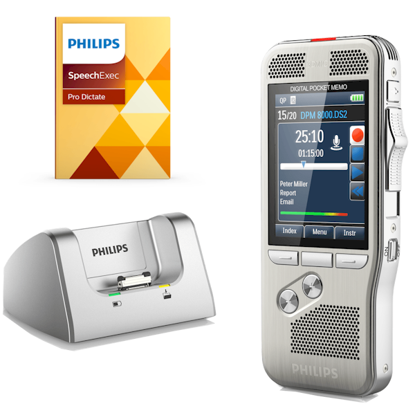 Philips PocketMemo recorder - DPM8200