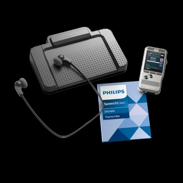 Philips dicteer- en transcriptie-set DPM7700