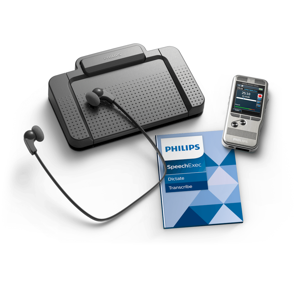 Philips dicteer- en transcriptie-set DPM7700
