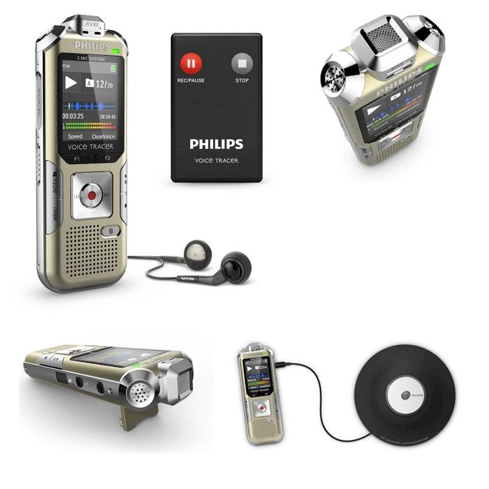 Philips VoiceTracer DVT6500 voor interviews, kleine vergaderingen en muziek