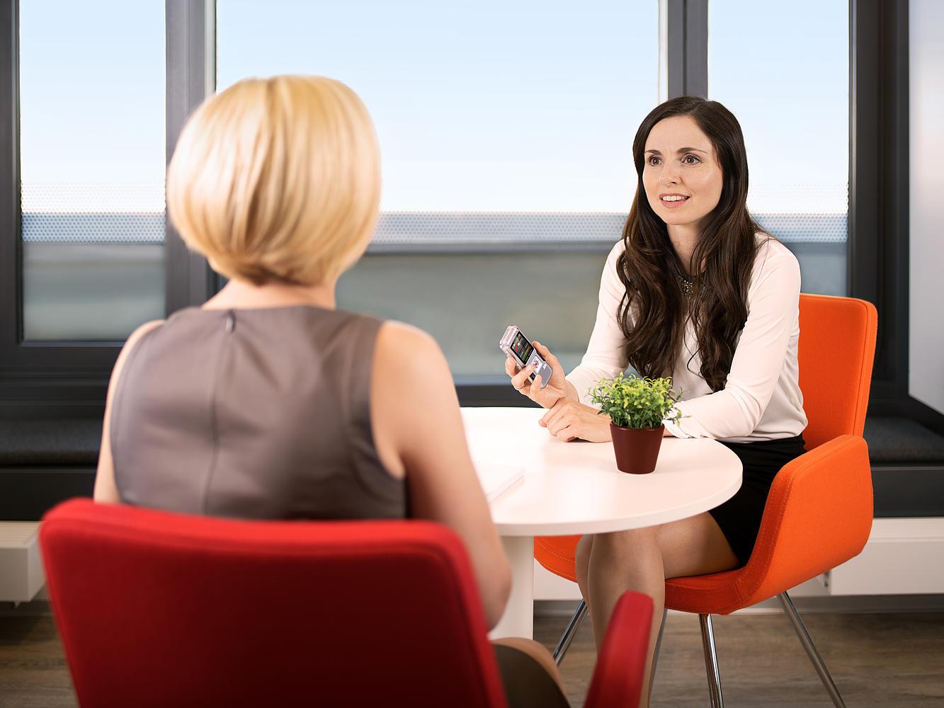 Philips Voice Tracer DVT4000 ook voor een interview
