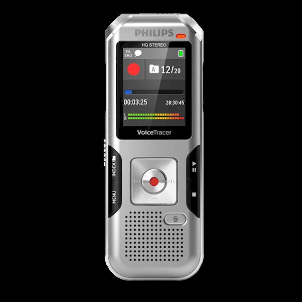 Philips Voice Tracer DVT4000 Digitale Memorecorder - Perfect opnemen van uw dictaten
