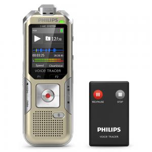 Philips VoiceTracer DVT6500 verslaggeversrecorder met afstandbediening
