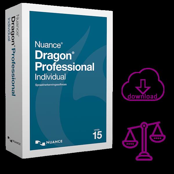 Dragon Professional 15 Individual Legal - Spraakherkenning voor advocaten & juristen