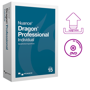 Dragon Professional Individual 15 upgrade van Professional op DVD