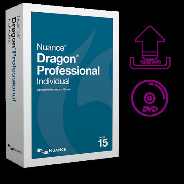 Dragon Professional Individual 15 upgrade van Professional op DVD