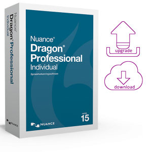 Dragon Professional Individual 15 spraakherkenningssoftware als elektronische download