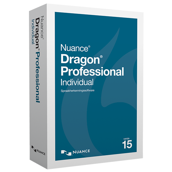 Dragon Professional Individual 14 spraakherkenningssoftware met Deep Learning technology