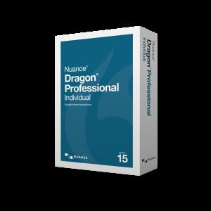 AVT Levert ook de Nuance Dragon Professional Individual v15 spraakherkenningssoftware