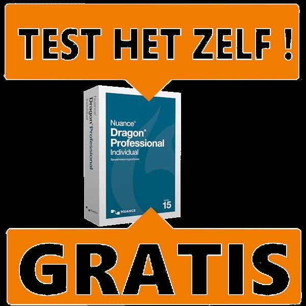 Gratis-versie-test-versie-Dragon-Professional-Individual-spraakherkenning