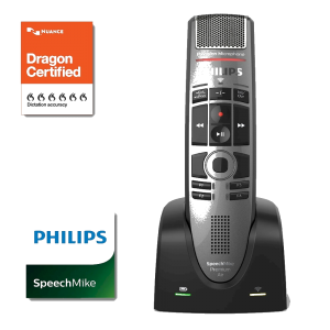 Philips SpeechMike Premium Air SMP4000 Dragon certified handmicrofoon