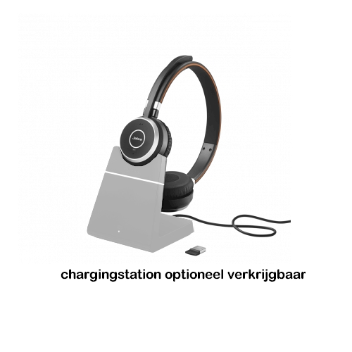 Jabra Evolve 65 mono met oplaadstation - chargingstation