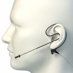 SpeechWare Fleximike Single ear Cardioid microfoon/headset bij AVT