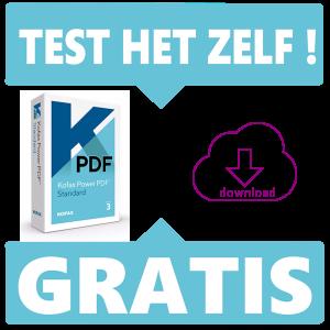 Test nu zelf de Kofax (voorheen Nuance) Power PDF 3 software - Gratis - Voor het maken en bewerken van PDF's