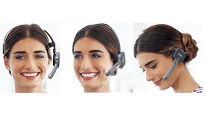 Philips SpeechOne PSM6000 dicteer headset met drie draagstijlen