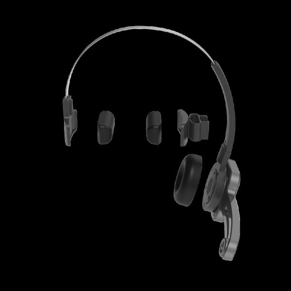 Philips SpeechOne PSM6000 Dicteerheadset.De SpeechOne is voorzien van drie gemakkelijk te verwisselen kussentjes voor ultiem draagcomfort en maximale hygiene.