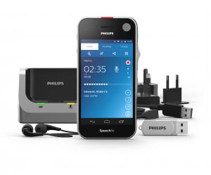 Philips Speech Air Dicteer recorder PSP2100 Android besturingssysteem en Wifi - dicteer onderweg en verzend uw dictaten naar uw pc of assistent voor transcriptie