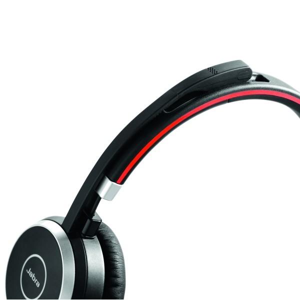 Jabra Evolve 40 - met inklapbare (magnetische) microfoon (boom)
