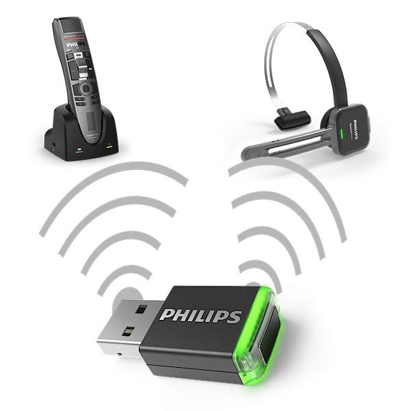 Philips AirBridge ACC4100 - USB-adapter voor SpeechOne en SpeechMike Air - draadloos verbinden