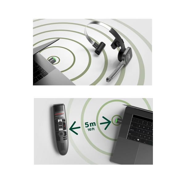 Philips AirBridge ACC4100 - USB-adapter voor SpeechOne en SpeechMike Air - beams