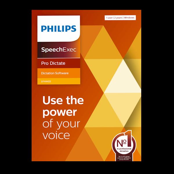 Philips LFH4422 SpeechExec Pro Dictate versie 11 Dicteersoftware