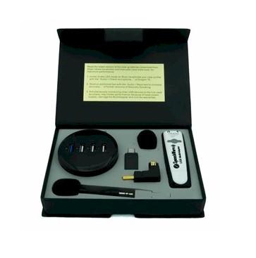 AVT SpeechWare TravelMike + Base - Inhoud van de verpakking