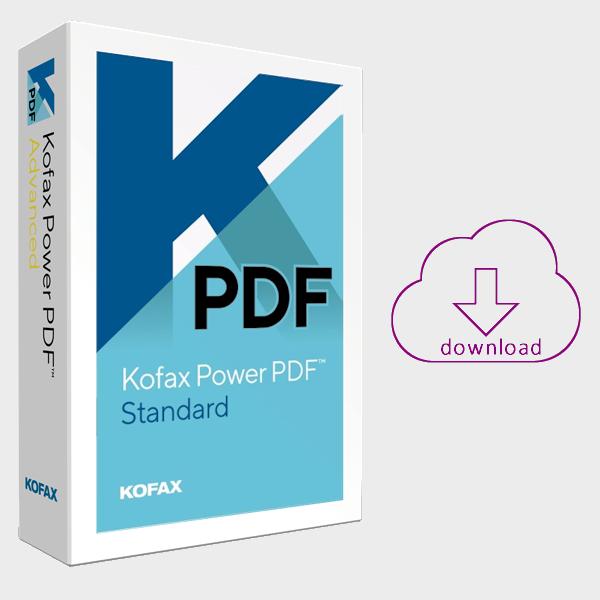Kofax PowerPDF 3 standard - Voor het maken, converteren en bewerken van PDF-bestanden
