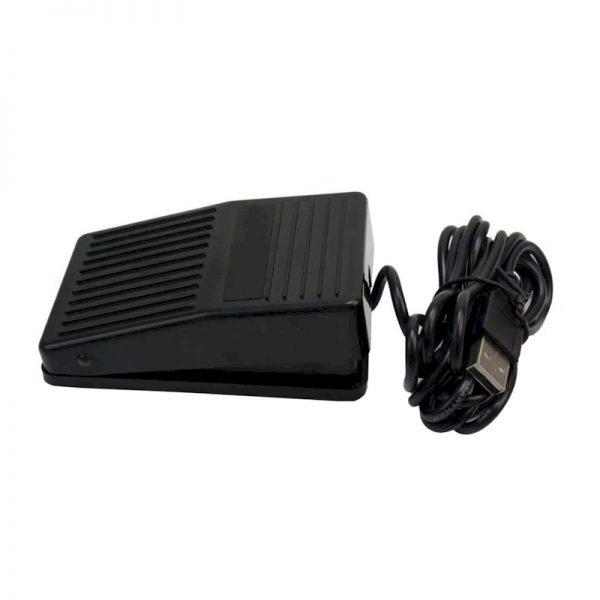 Bedien met de AVT USB-voetschakelaar uw Dragon spraakherkenning - zijkant