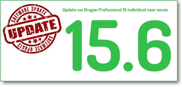 AVT Blog: nieuwe versie Dragon professional 15.6