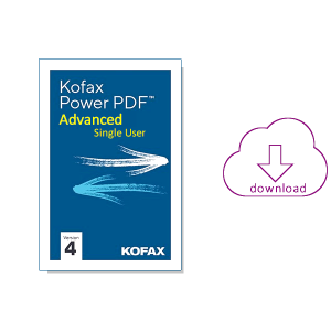 Kofax Power PDF 4 - Advanced Single User - koop je bij AVT