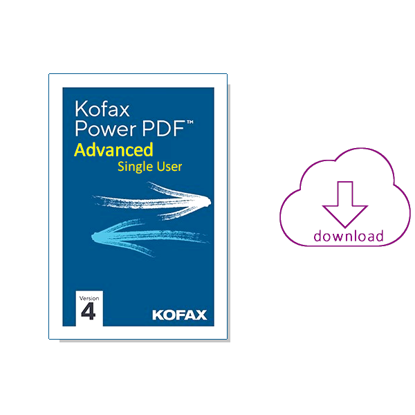 Kofax Power PDF 4 - Advanced Single User - koop je bij AVT