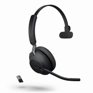 Jabra Evolve2 65 zwart mono USB-A met Jabra 380 dongel