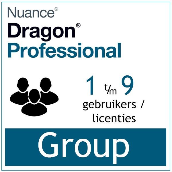 AVT spraak naar tekst spraakherkenning - Dragon Professional Group - Enterprise Dictation- 1-9-licenties - Bij-AVT