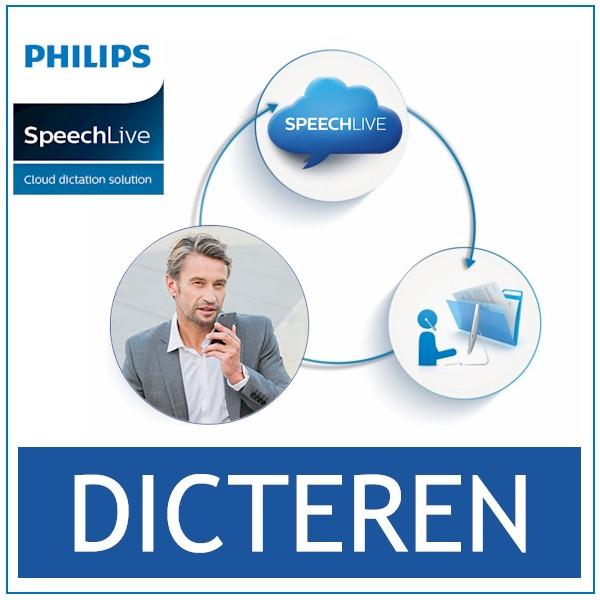 SpeechLive - Cloud Dicteren en Uitwerken - Bij AVT Beneleux - de expert - Dicteermodule